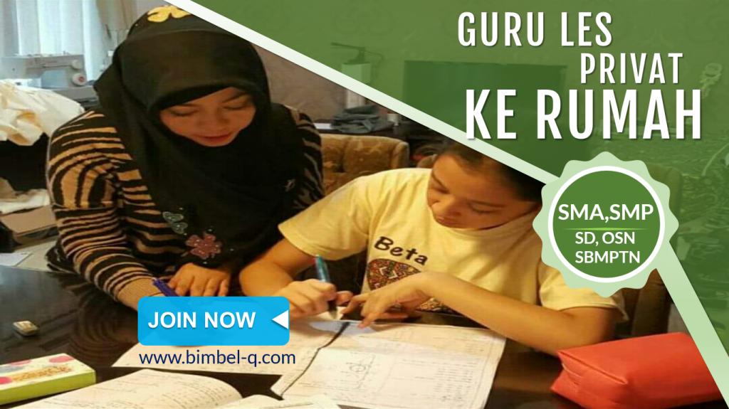 GURU LES PRIVAT DI Mekarsari Bekasi : INFO BIMBEL DAN JASA GURU LES PRIVAT UNTUK SMA