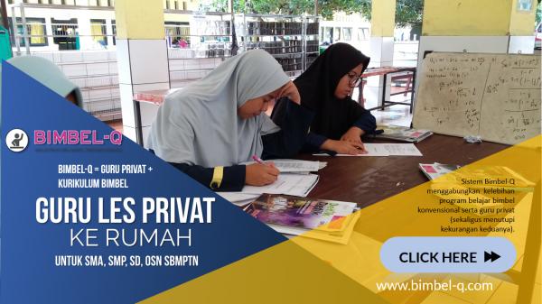 GURU LES PRIVAT DI Bojong Jaya Tangerang : INFO BIMBEL DAN JASA GURU LES PRIVAT UNTUK SMA