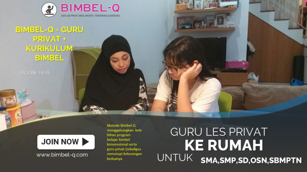 GURU LES PRIVAT DI Pondok Kacang Barat Tangerang Selatan : INFO BIMBEL DAN JASA GURU LES PRIVAT UNTUK SMA
