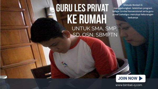GURU LES PRIVAT DI Duren Sawit Jakarta Timur : INFO BIMBEL DAN JASA GURU LES PRIVAT UNTUK SMP