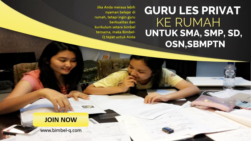GURU LES PRIVAT DI Jatimakmur Bekasi : INFO BIMBEL DAN JASA GURU LES PRIVAT UNTUK SBMPTN