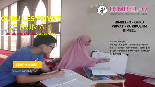GURU LES PRIVAT DI Cibubur Jakarta Timur : INFO BIMBEL DAN JASA GURU LES PRIVAT UNTUK SMP