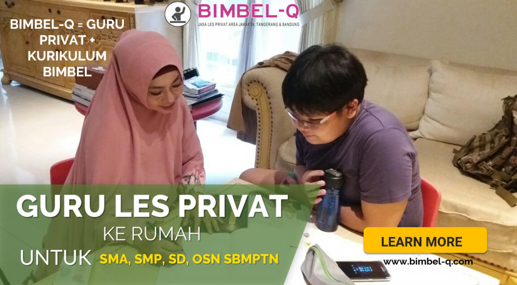 GURU LES PRIVAT DI Cisoka Kabupaten Tangerang : INFO BIMBEL DAN JASA GURU LES PRIVAT UNTUK SMP