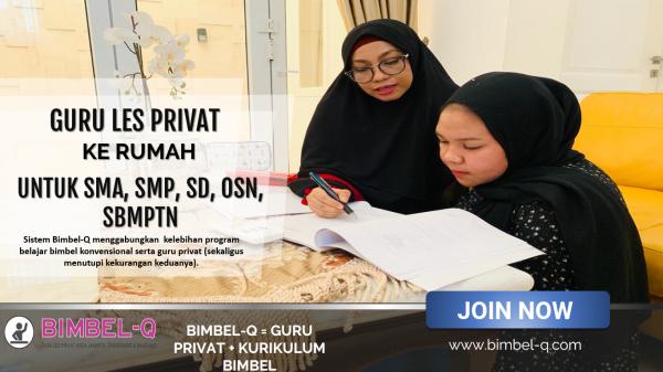 GURU LES PRIVAT DI Rawa Mekar Jaya Tangerang Selatan : INFO BIMBEL DAN JASA GURU LES PRIVAT UNTUK SMA